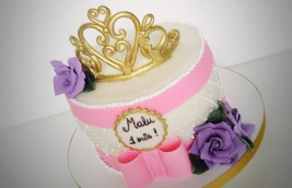 Bolo Coroa de Princesa